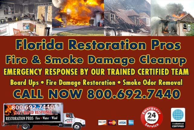 Florida Fire Damage Repairs