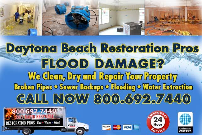 Daytona Beach Flood Damage Repairs