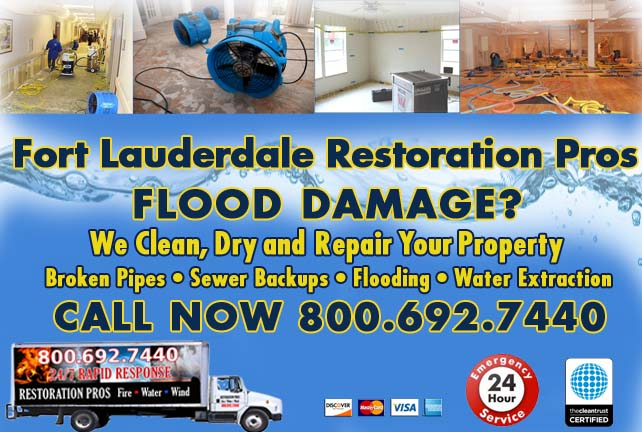 Fort Lauderdale Flood Damage Repairs