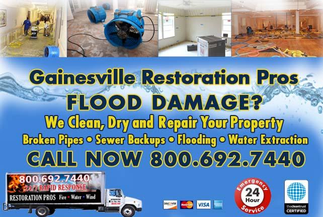 Gainesville Flood Damage Repairs