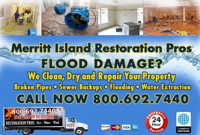 Merritt Island Flood Damage Repairs