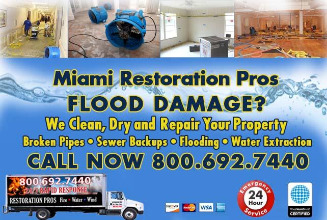 Miami Flood Damage Repairs