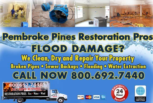 Pembroke Pines Flood Damage Repairs